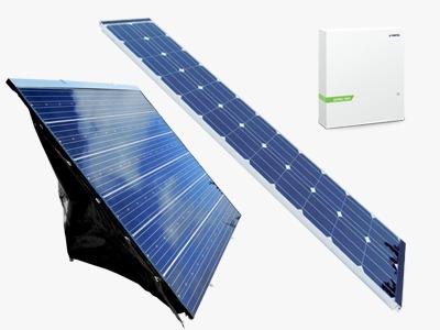 sic solar - pannelli solari ibridi termo fotovoltaici. Modulo ibrido RA. Kit solare domestico per enrgia elettrica, energia termica ed acqua calda sanitaria